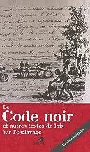 Livres LE CODE NOIR PDF
