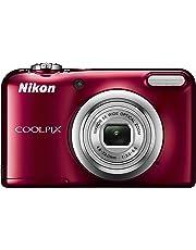Nikon デジタルカメラ COOLPIX A10 レッド 光学5倍ズーム 1614万画素 乾電池タイプ A10RD