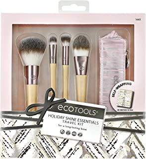 Ecotools Holiday 2019 limited edition, holiday shine essentials travel set