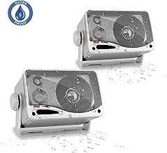 3-Way Waterproof Marine Box Speakers - 3.5