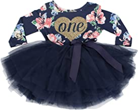 Grace & Lucille 1st Birthday Dress (Long Sleeve)