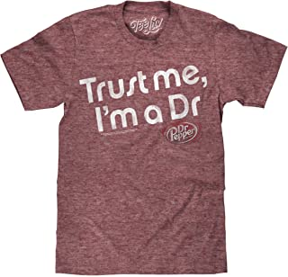 Dr Pepper Big and Tall T-Shirt - Trust Me I'm A Dr Graphic Shirt