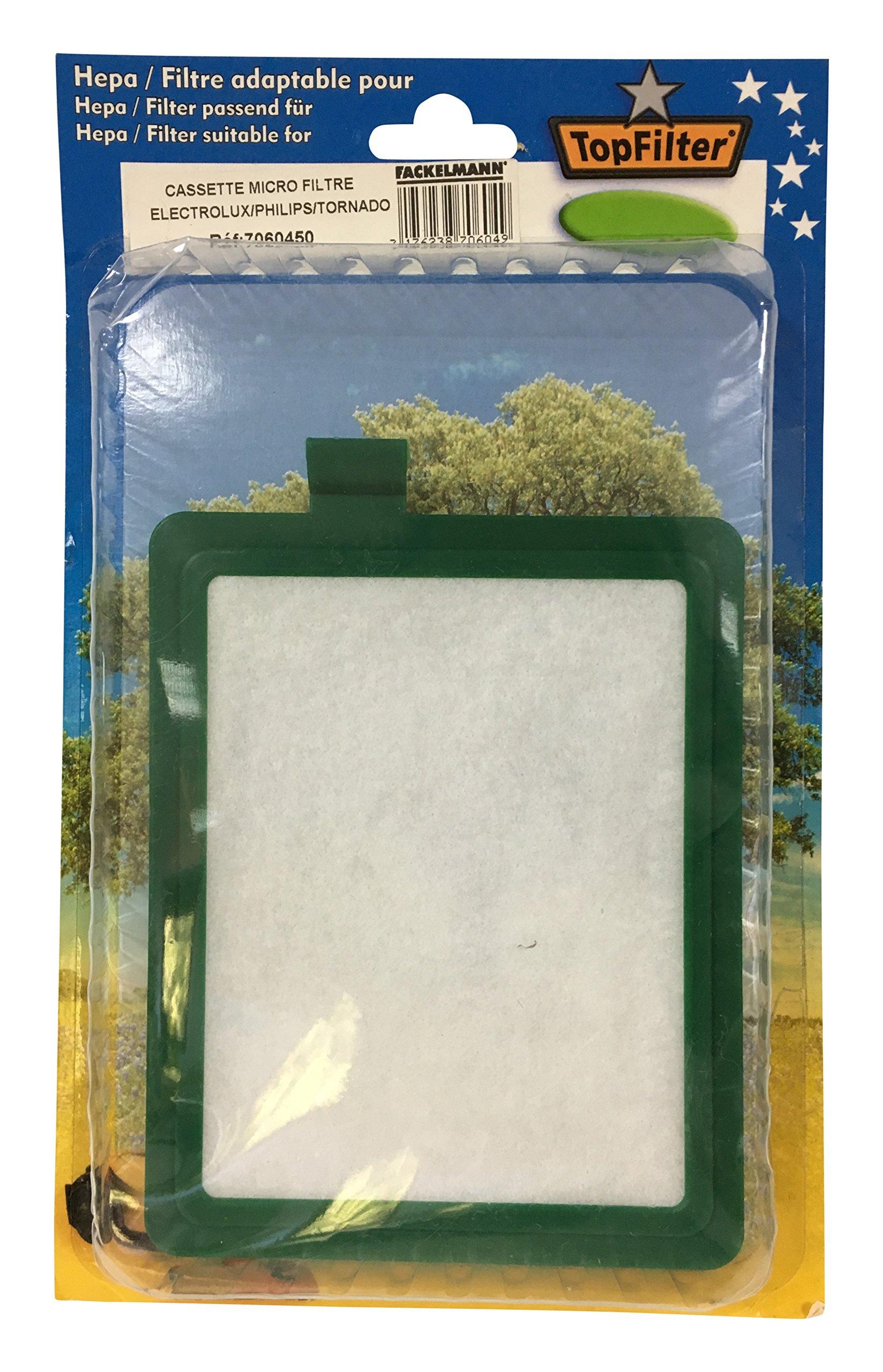 TopFilter 7060450 Aspirador escoba Filtro accesorio y suministro de vacío - Accesorio para aspiradora (Stick vacuum, Filtro,