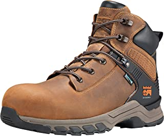 Timberland Men's Hypercharge 6 Inch Composite Safety Toe Waterproof Industrial Work Boot
