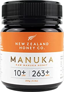 New Zealand Honey Co. Raw Manuka Honey UMF 10+ / MGO 263+ | 250g