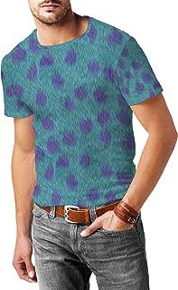 Sully Fur Monsters Inc Disney Inspired Mens Sport Mesh T-Shirt