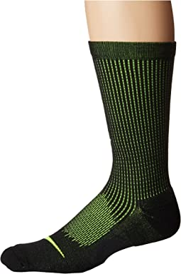 Elite Cushioned Running Merino Crew Socks