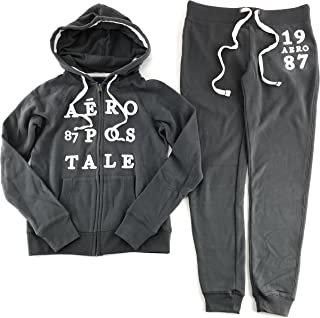 Aeropostale Women's Hoodie and Sweat Pants Set