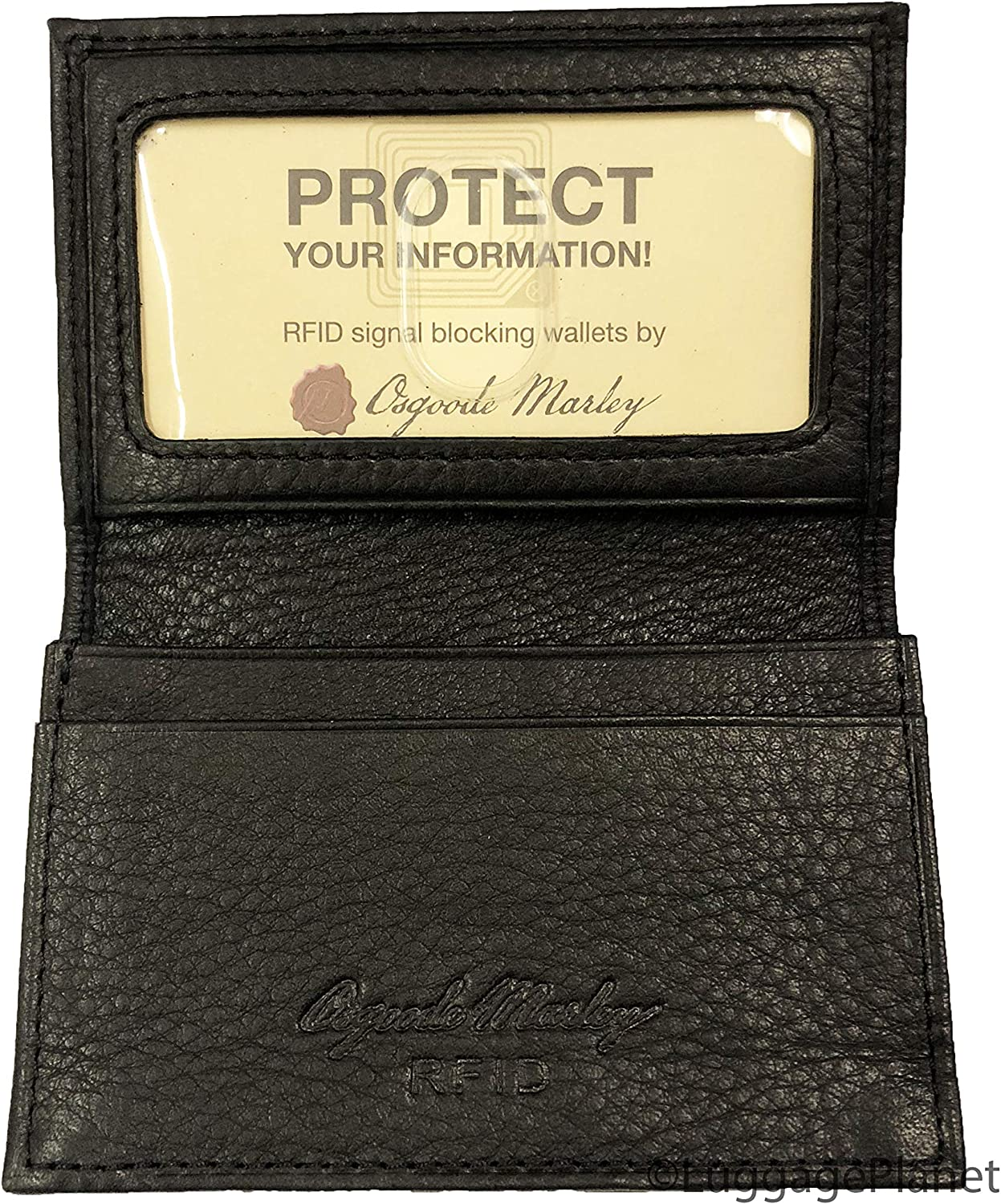 Max 41% OFF Osgoode Marley Manufacturer direct delivery RFID Card Gusseted Case