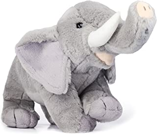 VIAHART Eugene The Elephant | 11 Inch Realistic Looking Stuffed Animal Plush | by Tiger Tale Toys