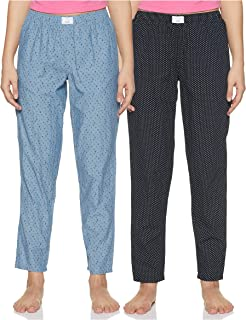 Diverse Women's Pyjama Bottom (Pack of 2) (DCWLPCMSC19L34-11_Multicolor_XX-Large)