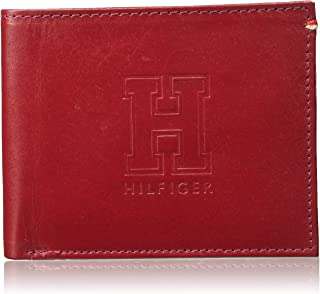 Tommy Hilfiger Red Men's Wallet (TH/DIPLOMATGCW04)