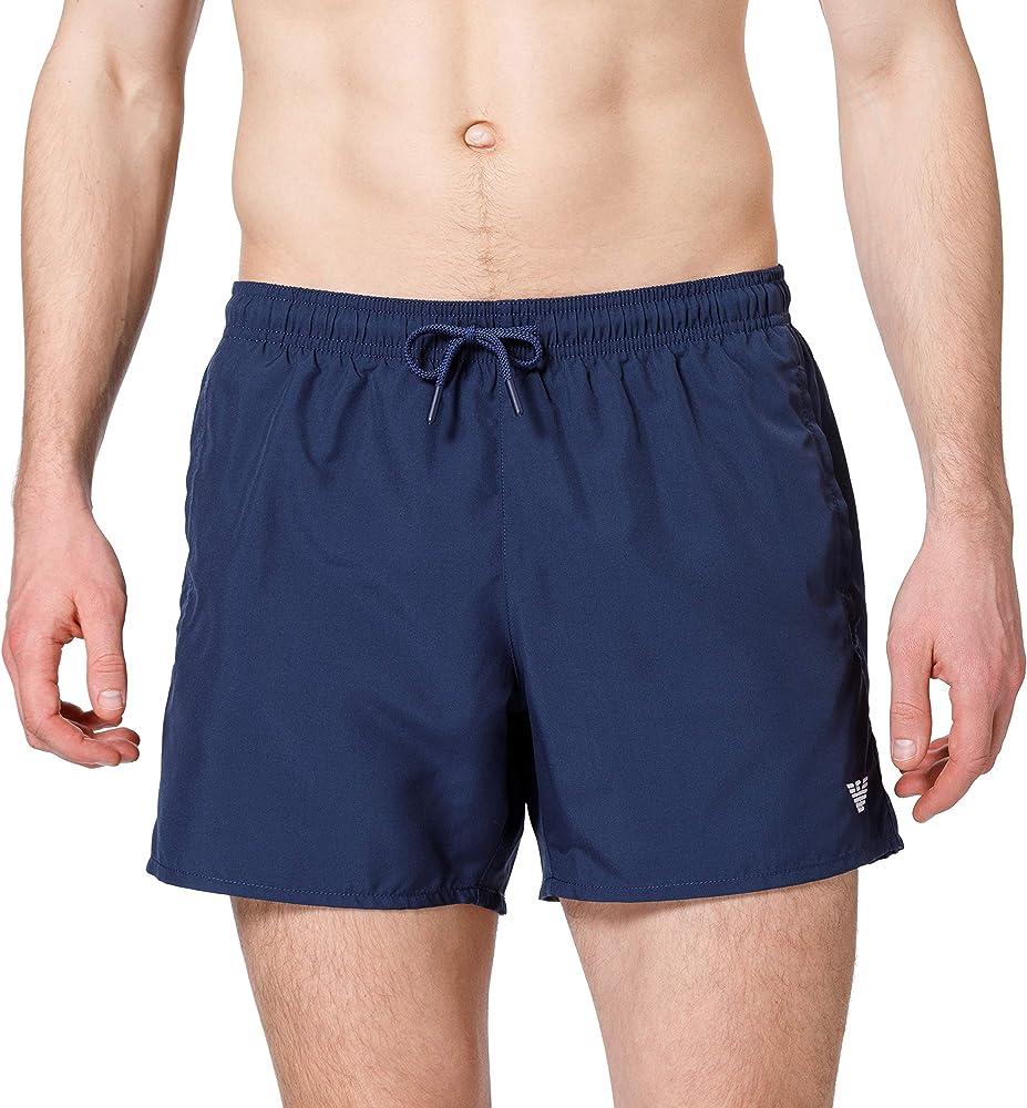 Emporio armani swimwear ,costume per uomo a pantaloncino,100 % poliestere 211752 1P438 06935