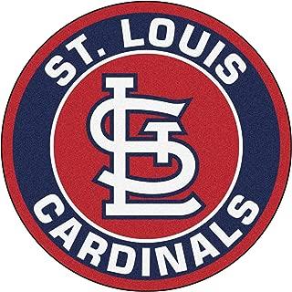 FANMATS 10751 MLB St Louis Cardinals 1-Piece Embroidered Car Mat