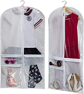 costume garment bag with pockets