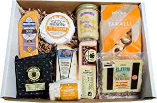 Classic Provisions Artisan Cheese Box – Wine Lovers | Cheese | Cheese Board | Cheese Gift Baskets | Holiday Gift | Appetiz...