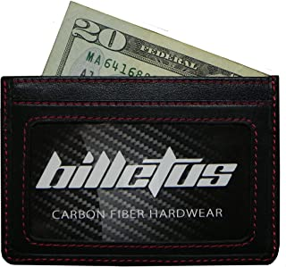 Billetus Minimalist Men's Genuine Leather Wallet - RFID Blocking Wallet