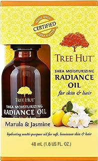 Tree Hut Shea Moisturizing Radiance Oil Marula & Jasmine, 1.6oz, Ultra Hydrating Oil for Nourishing Essential Body Care
