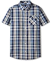 Tommy Hilfiger Kids - Short Sleeve Woven Forrester (Big Kids)