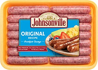 Johnsonville, Original Breakfast Sausage Links, 12 oz (Frozen)