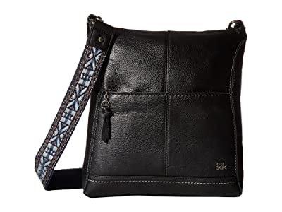 The Sak Lucia Crossbody (Black) Cross Body Handbags