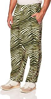 Zubaz Men's Standard Classic Zebra Printed Athletic Lounge Pants X-Small Multi