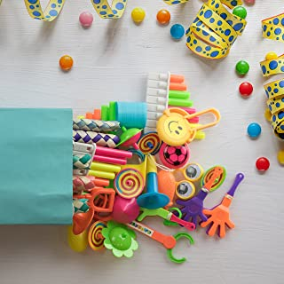 PartySticks Party Favors for Kids - 120pk Assorted Mini Toys for Birthday Gift Bags, Goodie Bag Fillers, Pinata Stuffers, ...