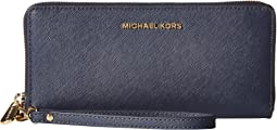52e1169df439 Michael michael kors jet set checkbook wallet | Shipped Free at Zappos