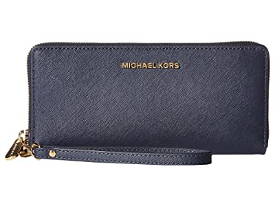 MICHAEL Michael Kors Jet Set Travel Travel Continental (Admiral) Clutch Handbags