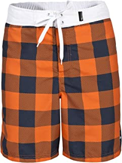 Trespass Mens Pacino Checkered Board Shorts