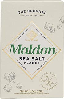 Maldon Salt Company, Sea Salt Flakes, 8.5 Ounce (240 gram box)