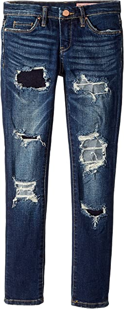 Blank NYC Kids - Denim Distressed Skinny Jeans in Cult Classic (Big Kids)