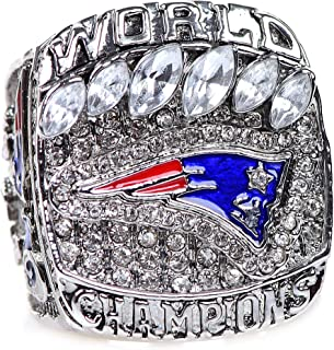 HASTTHOU 2019 New England Patriots Championships Ring Collectible Gift with Box