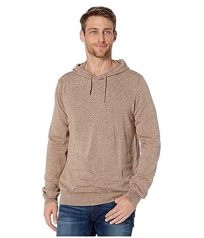 Prana Kaola Hooded Sweater (Sepia Heather) Men