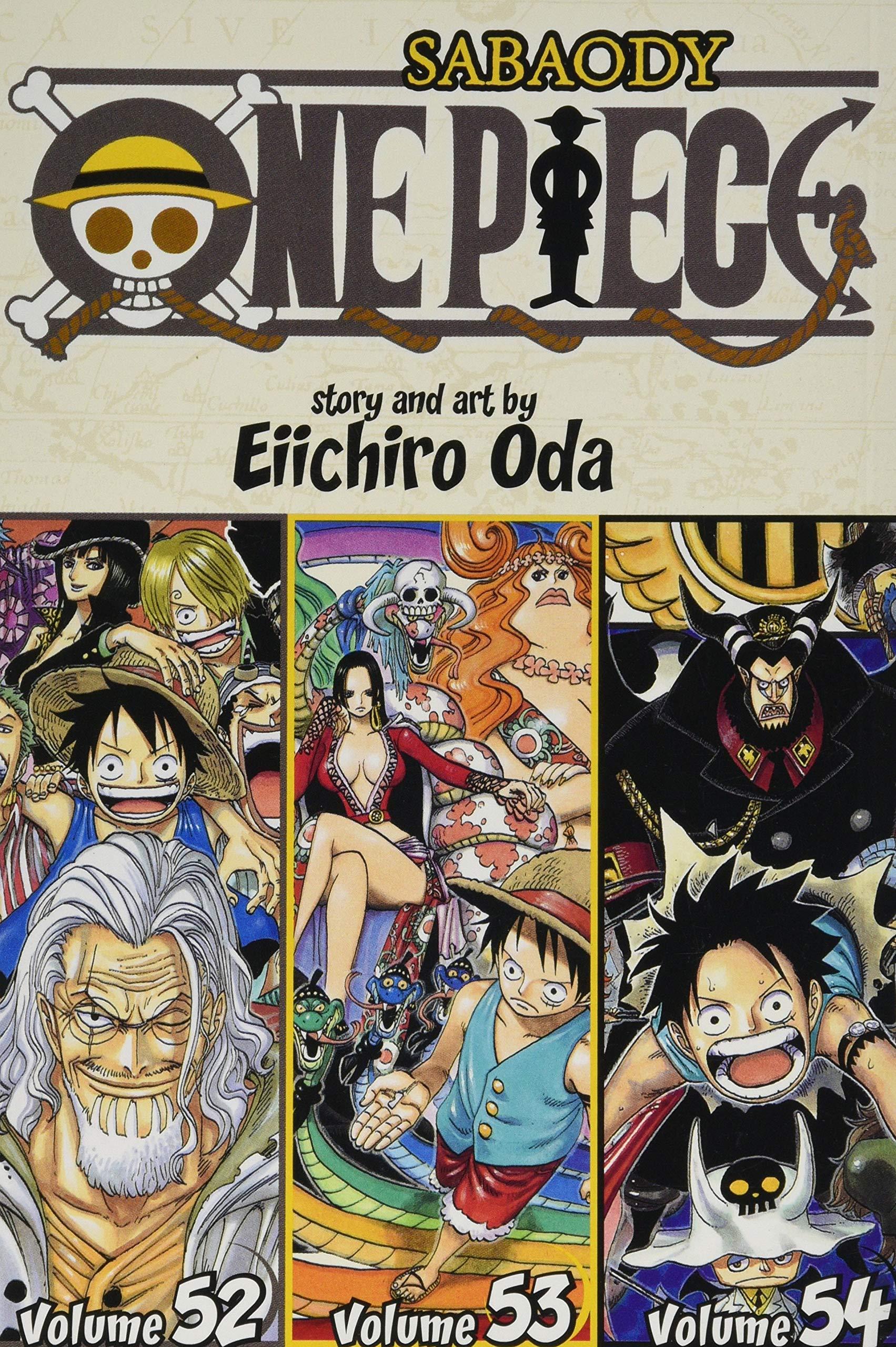 One Piece (Omnibus Edition), Vol. 18: Includes vols. 52, 53 & 54 (18)