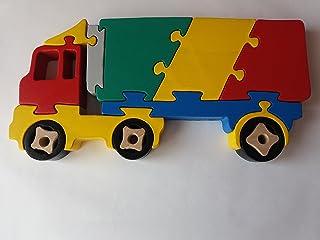 Carretilla de madera de madera carro de carga hecho a mano carretilla europea carretilla máquina juguete vehículo utilitario regalo para niños madera coche portador de madera de haya