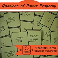 Task Cards Quotient of Power Property