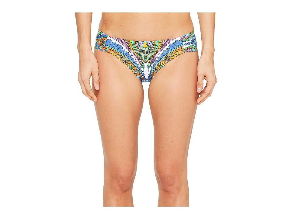 Trina Turk Pacific Paisley Shirred Side Hipster Bottom (Multi) Women