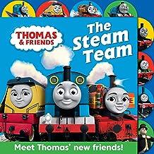 Thomas & Friends: The Steam Team: Tabbed board book