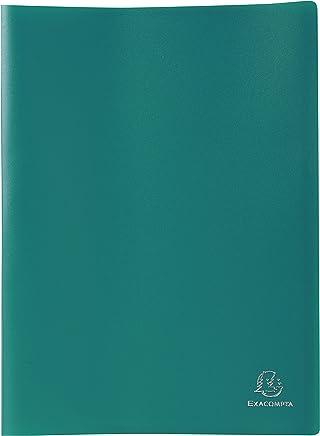 Exacompta - 8533e - Porte-Vues en Polypro - Format A4 - 60 Vues - Vert