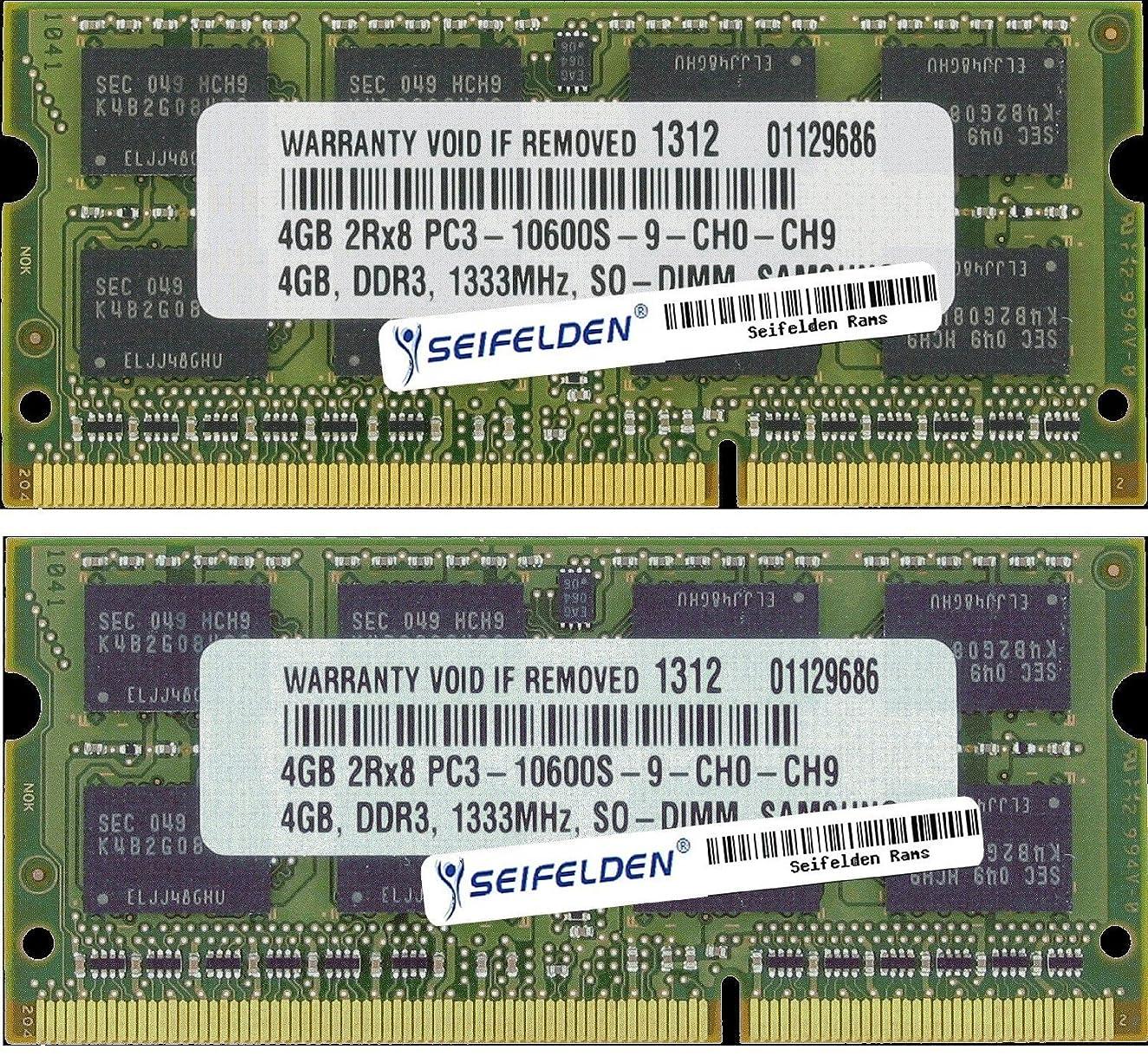 Seifelden 8GB (2X4GB) Memory RAM for HP Pavilion DM4-1265DX DM4-1273CA DM4-1275CA DM4-1277SB DM4-2015DX DM4-2033CL DM4-2050US DM4-2053CA DM4-2055CA DM4-2058CA