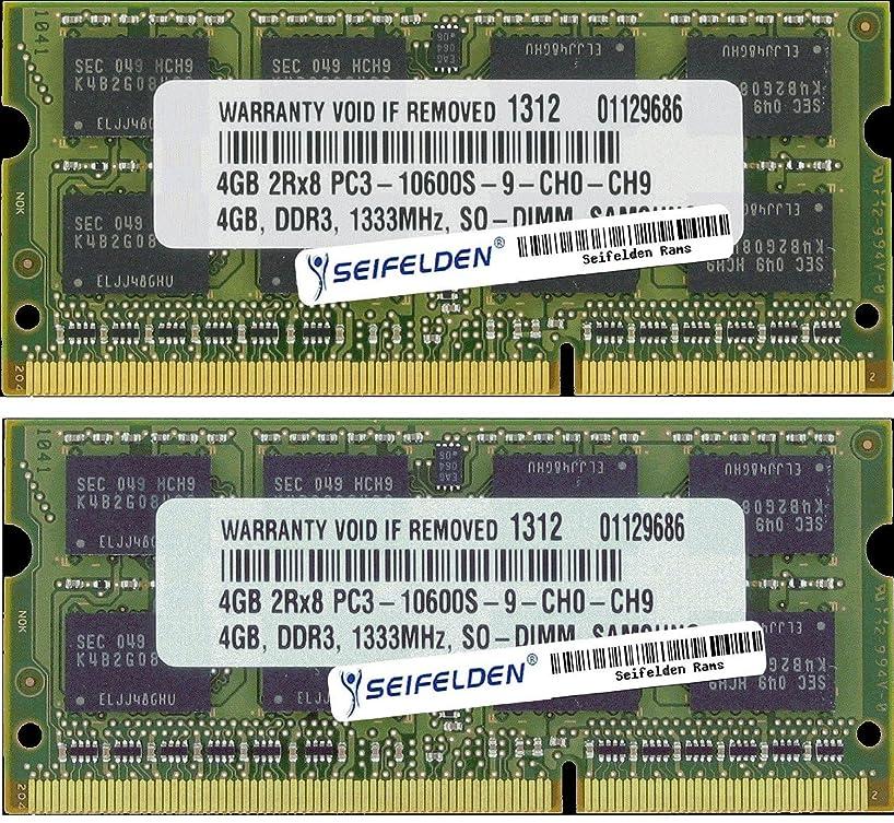 Seifelden 8GB (2X4GB) Memory RAM for Dell Inspiron 15 (7537) (N5030) (N5040) (N5050) 1564 1570 15R (5220) (5225) (5520) (5521) (5537) (7520) (N5010) (N5110) 15z