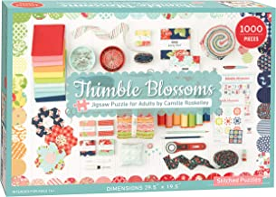 THIMBLE BLOSSOMS JIGSAW PUZZLE