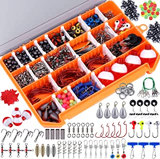 PLUSINNO Fishing Accessories Kit, 263/156 Pcs Fishing...