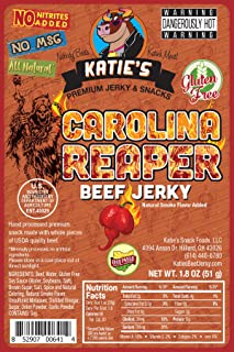 carolina reaper beef jerky recipe