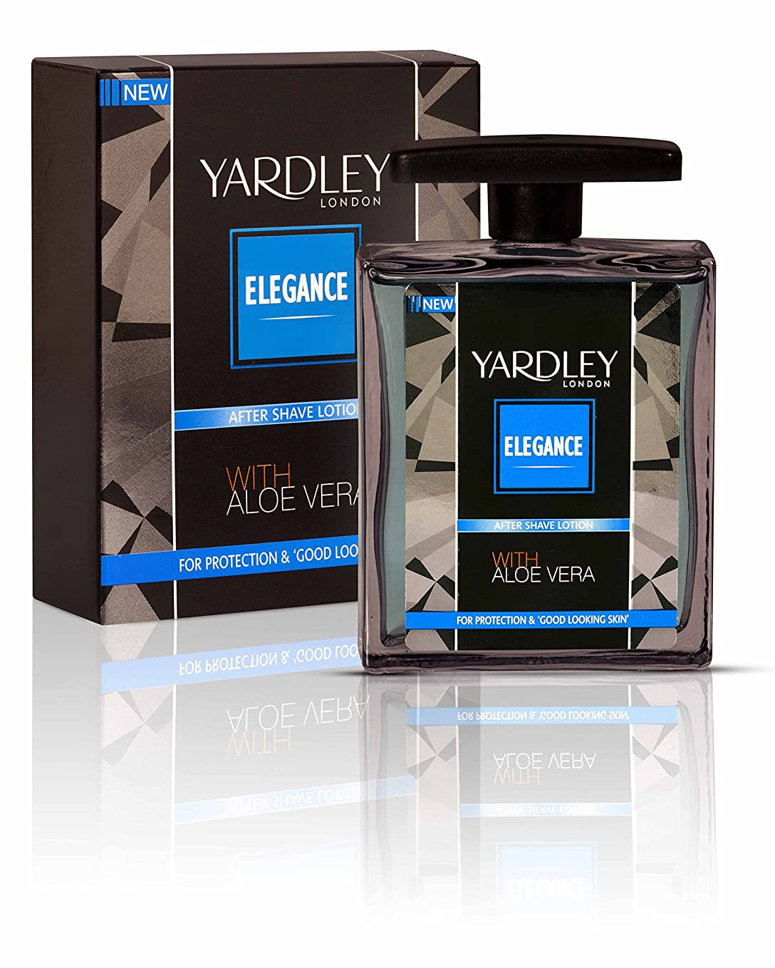 決定いたずら閉じるYardley London Elegance After Shave Lotion With Aloe Vera 50ml