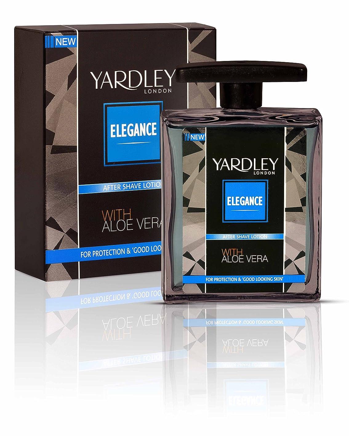 バッフル告発者アジャYardley London Elegance After Shave Lotion With Aloe Vera 50ml