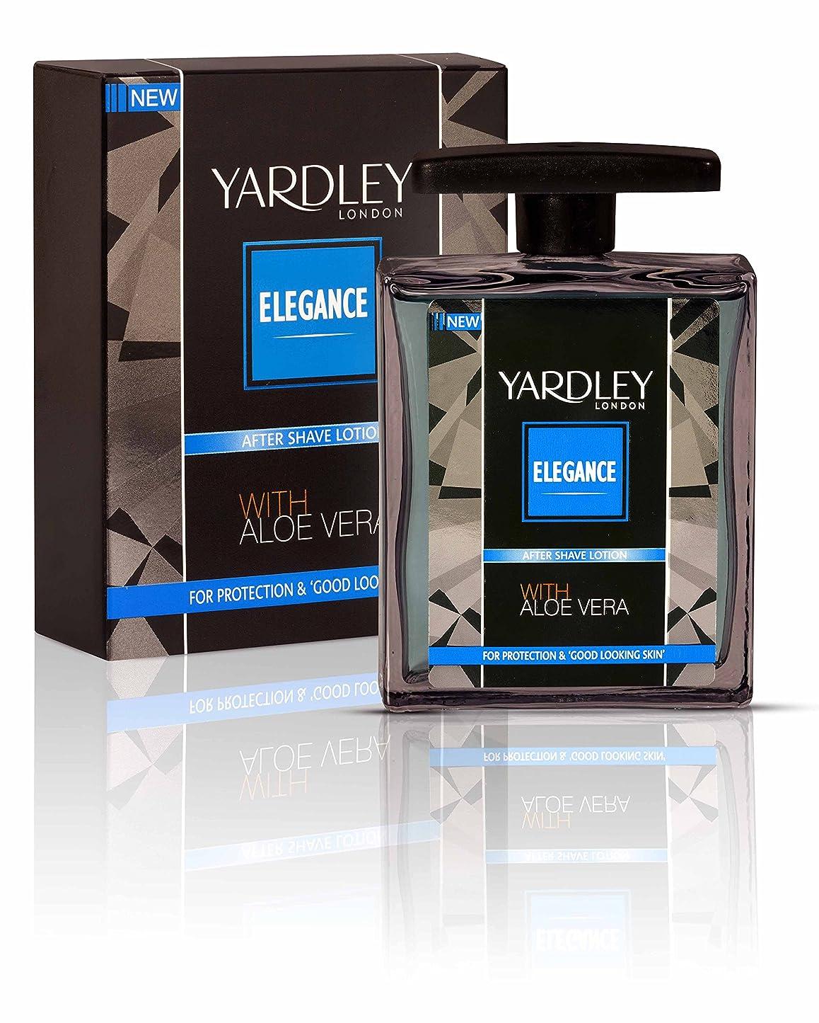 ギャロップ音楽を聴く失うYardley London Elegance After Shave Lotion With Aloe Vera 50ml
