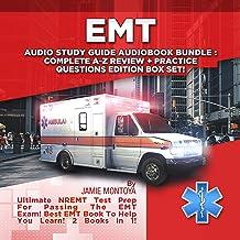 EMT Audio Study Guide Audiobook Bundle!: Complete A-Z Review & Practice Questions Edition Box Set!: Ultimate NREMT Test Pr...