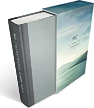 Illustrated Study Bible NLT Deluxe, Deluxe Linen Edition (Hardcover, Gray)